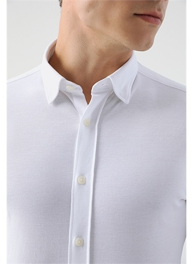 Tween Tween Slim Fit Beyaz Gömlek Beyaz